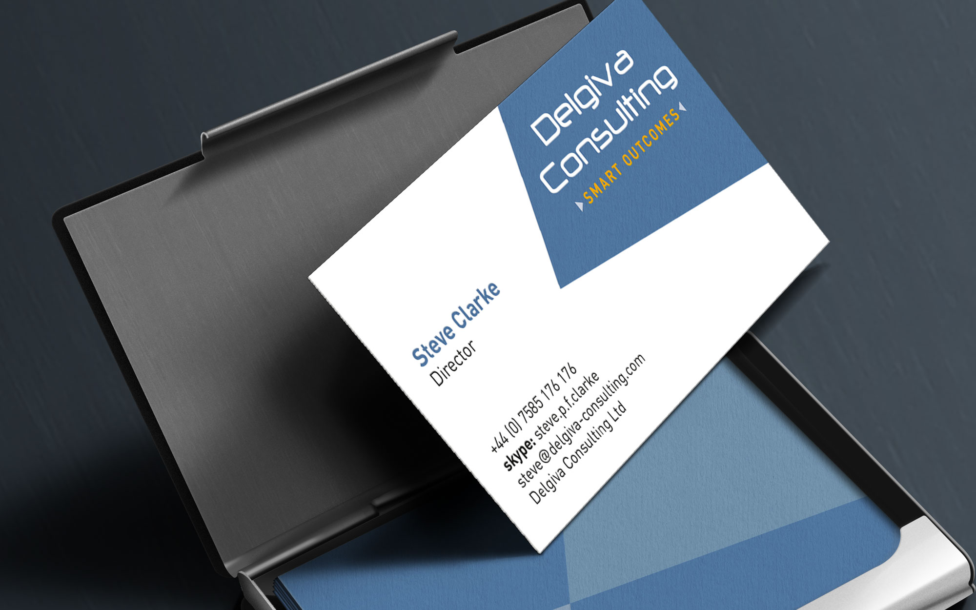 Delgiva business card